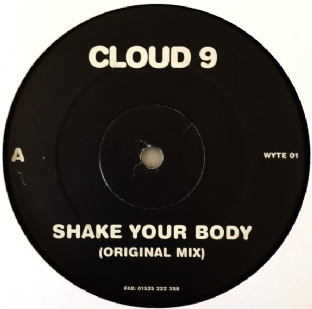 "Cloud 9 - Shake Your Body (12"") (Promo) (VG-/NM)"